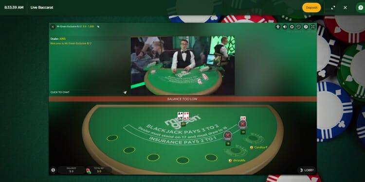 mr green casino tricks