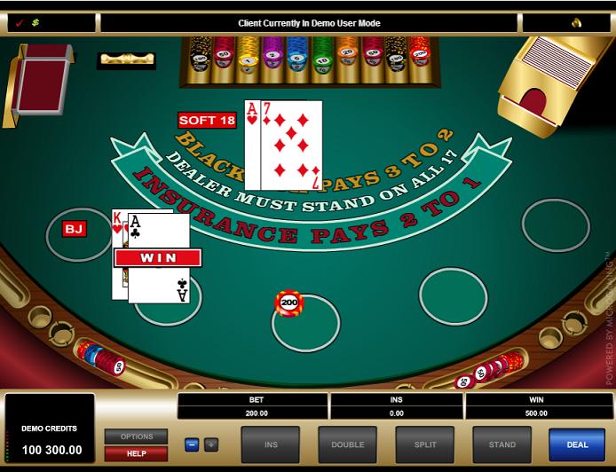 Blackjack Demo Royal Vegas