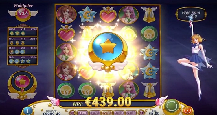 Play'n Go slot pays tribute to Manga Moon Princess