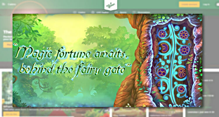 Quickspin's new Fairy Gate slot released this week