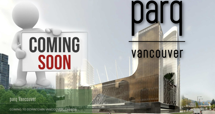 Parq Vancouver Casino Grand Opening Sept 29