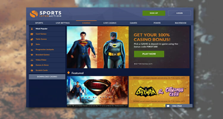 DC Super Hero Jackpots Coming to Canada
