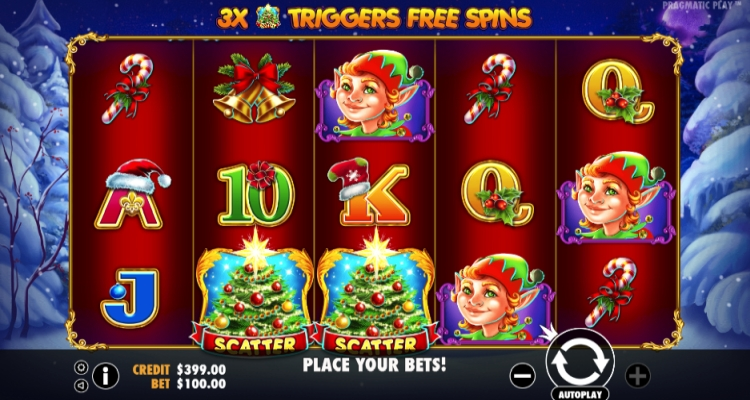 Pragmatic Play Visits LeoVegas with Santa Slot, More