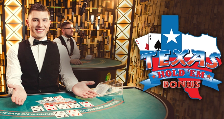 €50k Jackpot with Evolution's New Live Texas Hold'em Bonus Poker