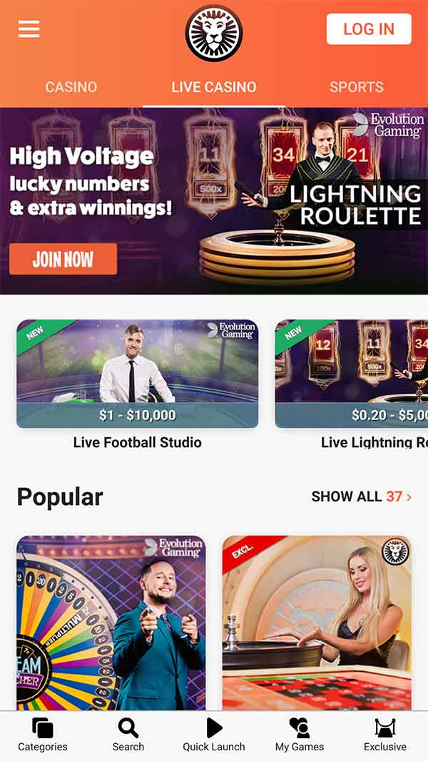 leovegas-live-mobile-games