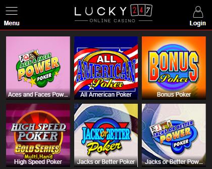 Poker Game Selection