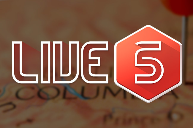 Live5 Set to Debut in British Columbia